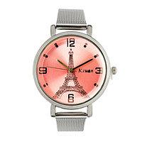 Часы наручные женские 'KX Париж' d3.3 см, микс