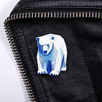 Значок 'Мурманск. Медведь'