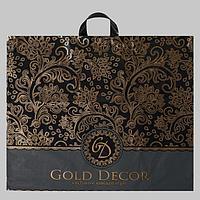 Пакет 'Голд декор', полиэтиленовый с петлевой ручкой, 60х50 см, 70 мкм (комплект из 25 шт.)