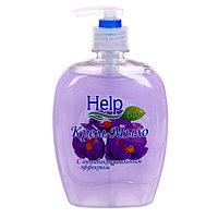 Жидкое мыло 'Help' с Антибактериальным эффектом 500 г с дозатором