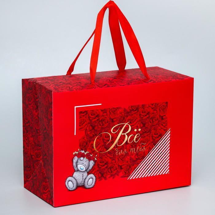 Пакет-коробка 'Всё для тебя', Me To You, 20 x 28 x 13 см - фото 1
