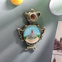 Магнит в форме самовара 'Ульяновск. Музей И.А. Гончарова'