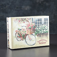Подарочная коробка сборная 'Романтического настроения', 21 х 15 х 5,5 см (комплект из 5 шт.)