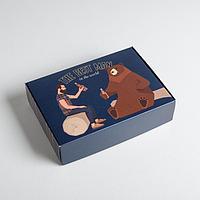 Коробка складная 'Для настоящего мужчины', 21 x 15 x 5 см