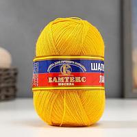 Пряжа 'Шалунья лайт' 55 шерсть меринос, 45 акрил 600м/100гр (104 желтый)