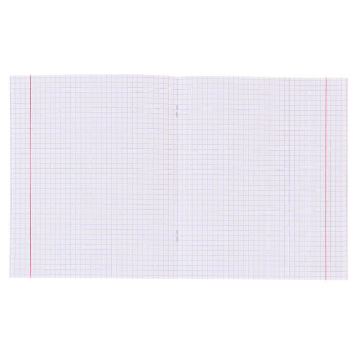 Тетрадь 24 листа в клетку 'Мишка и пингвин', обложка мелованный картон, блок офсет, МИКС (комплект из 25 шт.) - фото 2