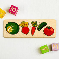 Рамка-вкладыш 'Овощи', 5 элементов