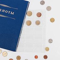 Лист для монет, Нумис, 193х215 мм, на 20 ячеек 41х41 мм (комплект из 10 шт.)
