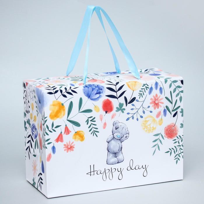 Пакет-коробка 'Happy Day', Me To You, 20 x 28 x 13 см - фото 1