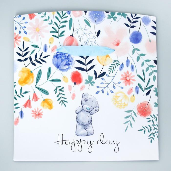 Пакет-коробка 'Happy Day', Me To You, 20 x 28 x 13 см - фото 2