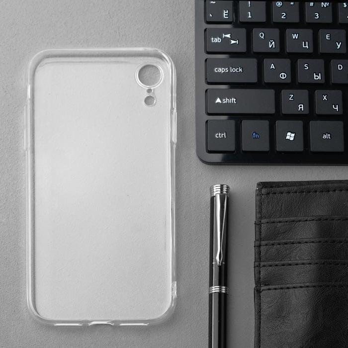 Чехол Innovation, для iPhone XR, силиконовый, прозрачный - фото 2