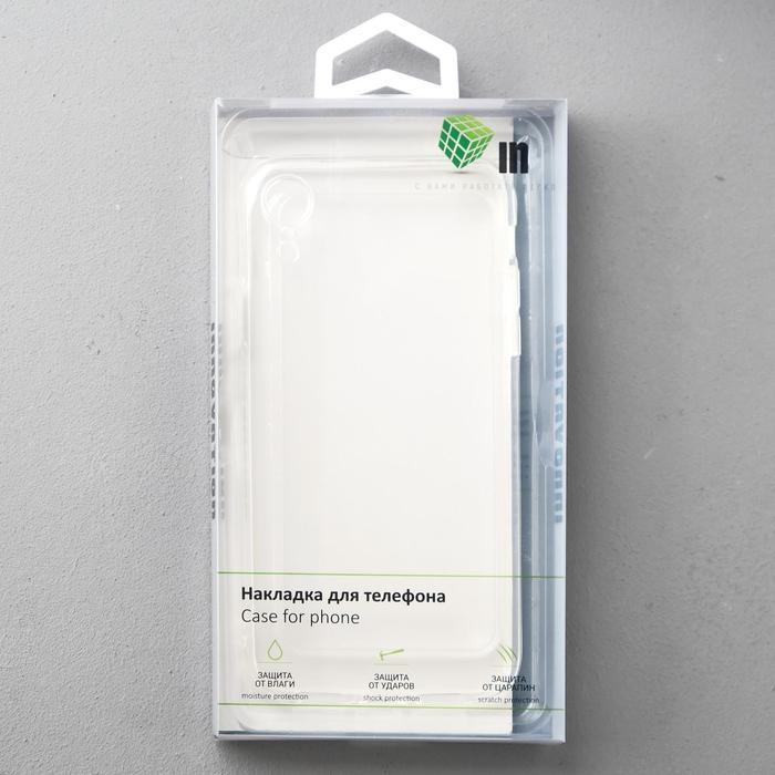 Чехол Innovation, для iPhone XR, силиконовый, прозрачный - фото 4