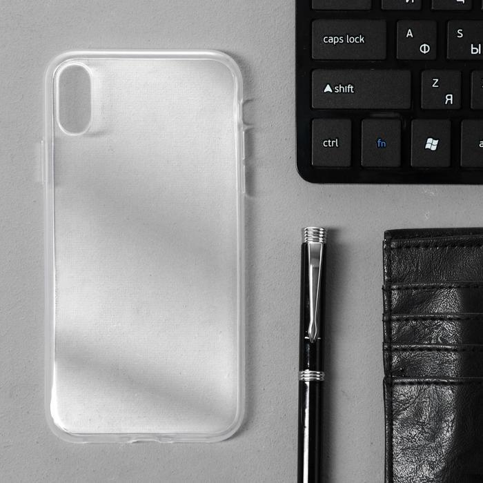 Чехол Innovation, для iPhone XR, силиконовый, прозрачный - фото 6