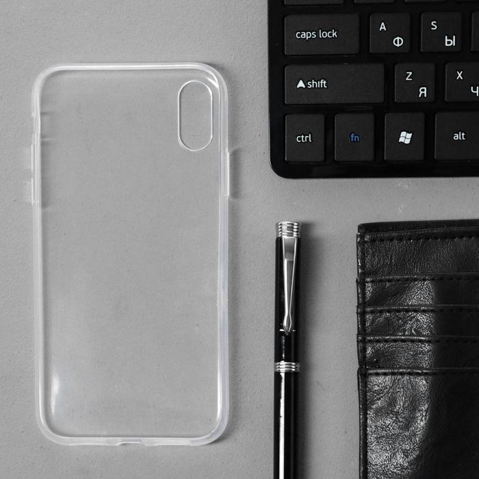 Чехол Innovation, для iPhone XR, силиконовый, прозрачный - фото 7