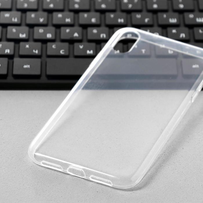 Чехол Innovation, для iPhone XR, силиконовый, прозрачный - фото 8