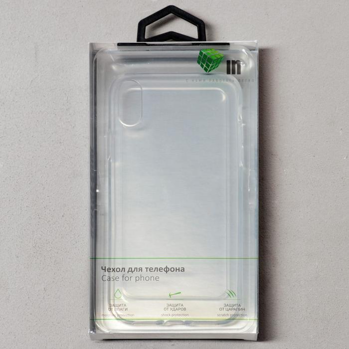 Чехол Innovation, для iPhone XR, силиконовый, прозрачный - фото 9