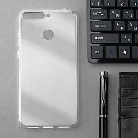 Чехол Innovation, для Huawei Honor 7A Pro/7C/Y6 Prime/Y6(2018), силиконовый, прозрачный