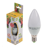Лампа светодиодная ASD LED-СВЕЧА-standard, Е14, 5 Вт, 230 В, 3000 К, 450 Лм