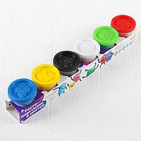 Набор для детского творчества 'Тесто-пластилин', 6 цветов по 50 г