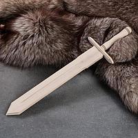 Сувенирное деревянное оружие 'Меч', 46 см, массив бука