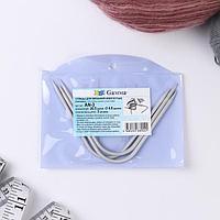 Спицы для вязания, изогнутые, с тефлоновым покрытием, d 4 мм, 20,5 см, 3 шт