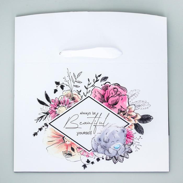 Пакет-коробка 'Always ba beautiful yourself', Me To You, 20 x 28 x 13 см - фото 2