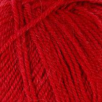 Пряжа 'Alpaca royal' 30 альпака, 15 шерсть, 55 акрил 250м/100гр (56 красный)