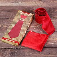 Подарочный набор галстук и платок 'С 23 Февраля'
