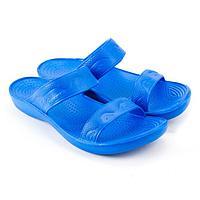 Сланцы пляжные женские, цвет синий, размер 39