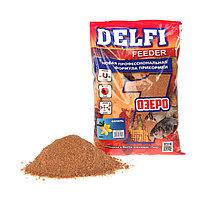 Прикормка Delfi Feeder-Озеро ваниль, вес 0,8 кг.