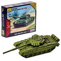 Сборная модель 'Советский основной боевой танк Т-72Б'