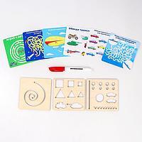 Многоразовые карточки 'Пиши-стирай', транспорт