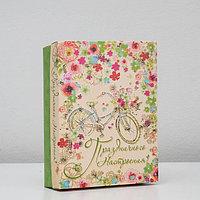 Подарочная коробка сборная 'Праздничного настроения', 21 х 15 х 5,7 см (комплект из 5 шт.)