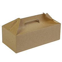 Коробка с ручками, 28,8 х 14,2 х 9,8 см (комплект из 10 шт.)