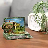 Растущая травка в открытке 'Нижний Тагил'