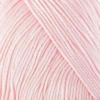 Нитки вязальные 'Лотос' 250м/100гр 100 мерсеризованный хлопок цвет 1002