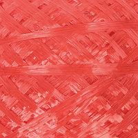 Пряжа 'Для вязания мочалок' 100 полипропилен 450м/120гр (алый)
