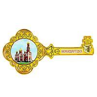 Магнит в форме ключа 'Нижневартовск'