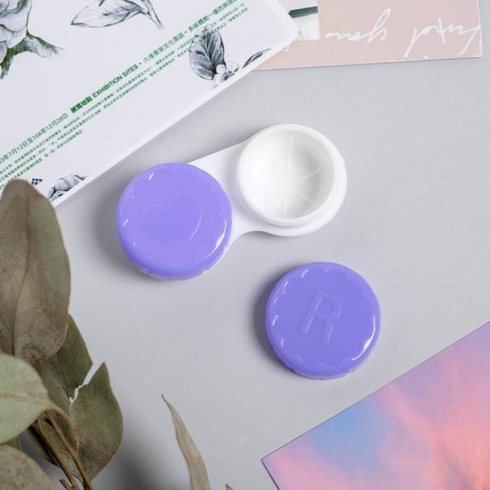 Набор для контактных линз с зеркалом 'Притягивай взгляды', 3 предмета, 6,5 х 5,5 см - фото 5