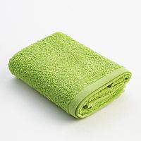 Полотенце махровое Экономь и Я 30х60 см, цв. ярко-зеленый, 100 хл, 320 г/м