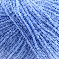Пряжа 'Карамелька' 100 акрил 175м/50гр (015, голубой) (комплект из 10 шт.)