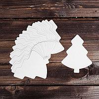 Основа для творчества - новогоднее украшение 'Ёлочка' набор 24 шт., размер 1 шт 12x15 см