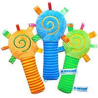 Игрушка-погремушка 'ШуМякиши Маракас', цвета МИКС