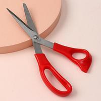 Ножницы универсальные, скошенное лезвие, 8,5', 22,5 см, цвет МИКС
