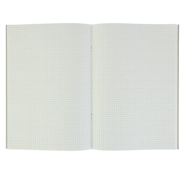 Тетрадь А4, 80 листов, клетка Nature (комплект из 3 шт.) - фото 2