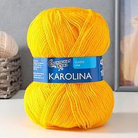 Пряжа Karolina (Каролина) 100 акрил 438м/100гр канарейка (216) (комплект из 3 шт.)