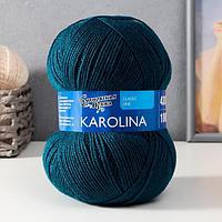 Пряжа Karolina (Каролина) 100 акрил 438м/100гр мор.вол. (27) (комплект из 3 шт.)