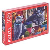 Пазлы 1000 элементов 'Британские коты'