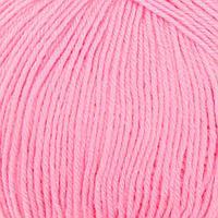 Пряжа 'Детский каприз' 50мериносовая шерсть, 50 фибра 225м/50гр (11-Ярко-розовый) (комплект из 5 шт.)