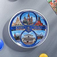 Магнит-тарелка 'Москва. Коллаж'